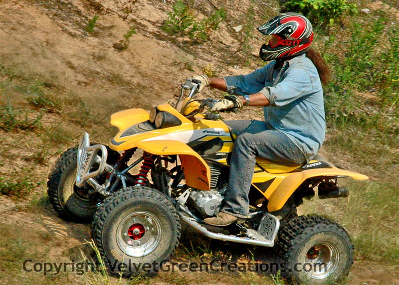 Newberry MI ATVing