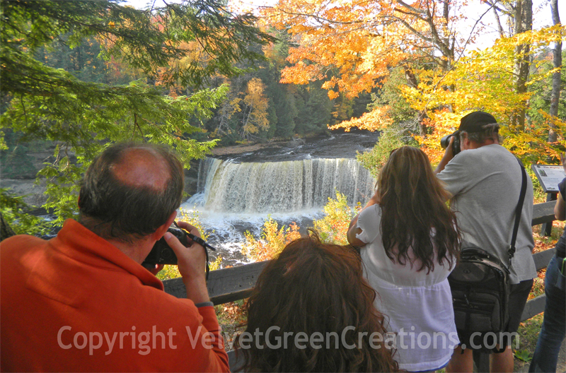 Photographing the Falls