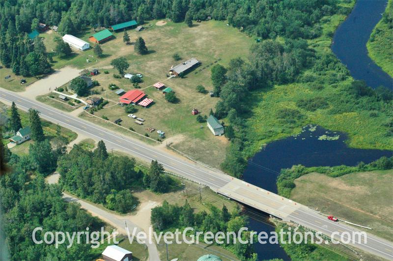 Logging Museum Aerial